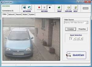 Video Capture Programs - Screenshot for QuickCam
