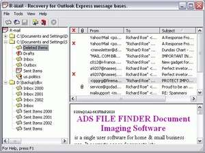 R-Mail for Outlook Express Screenshot