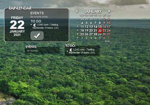 Rainlendar Lite Screenshot
