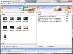 ReaConverter Screenshot