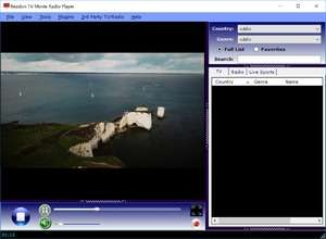 TV Player - Screenshot for Readon TV Movie Radio Player