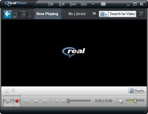 Media Players - Screenshot for RealPlayer SP