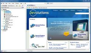 Remote Desktop Programs - Screenshot for Remote Desktop Manager Free