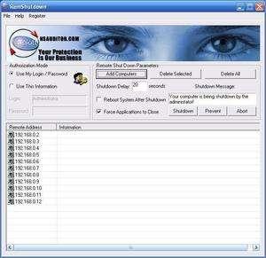 RemShutdown Screenshot