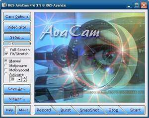 Video Capture Programs - Screenshot for RGS AvaCam