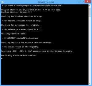Spyware Removal - Screenshot for RKill