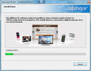 Media Server - Screenshot for Samsung Allshare