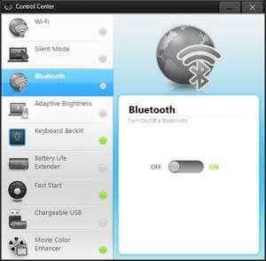 Computer Utilities - Screenshot for Samsung Control Center