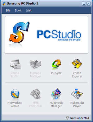 Samsung PC Studio Screenshot