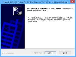 Drivers - Screenshot for Samsung USB Driver for Mobile Phones