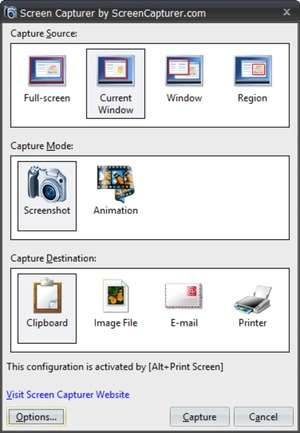 Screen Capture Programs - Screenshot for Screen Capturer