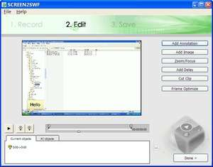 Screen Capture Programs - Screenshot for SCREEN2EXE