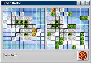 Strategy Games - Screenshot for Sea Battle