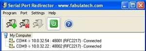 Serial Port Redirector Screenshot