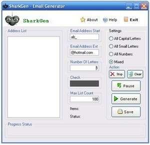 SharkGen Screenshot