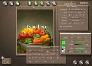 Sharptype Screenshot
