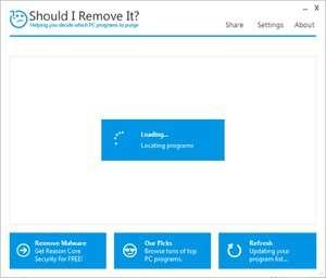 Should I Remove It? Screenshot