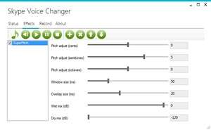 Skype Voice Changer Screenshot
