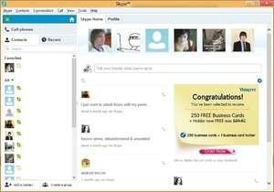 Instant Messaging - Screenshot for Skype
