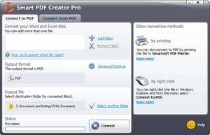 Smart PDF Creator Screenshot