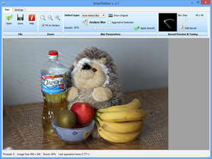Image Manipulation Software - Screenshot for SmartDeblur