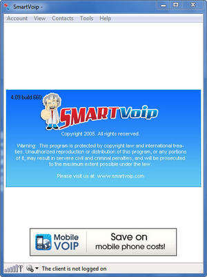 SmartVoip Screenshot