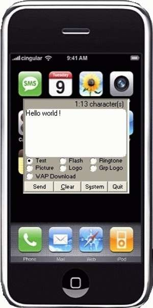 SMS-it Screenshot