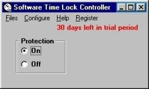 Software Time Lock Screenshot