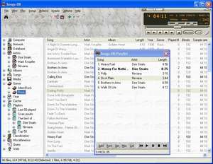 MP3 Players - Screenshot for Songs-DB