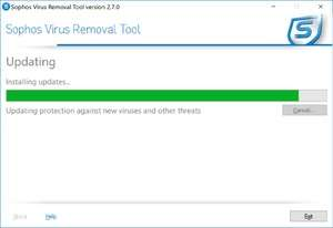 Antirootkit Software - Screenshot for Sophos Anti-Rootkit Software