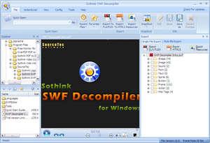 Sothink SWF Decompiler Screenshot
