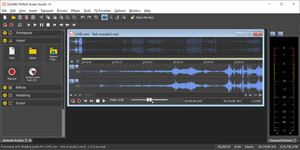 Sound Forge Audio Studio Screenshot