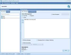 SpeedSMS Screenshot