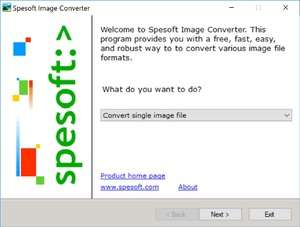 Image Conversion - Screenshot for Spesoft Image Converter