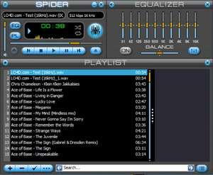 MP3 Players - Screenshot for Spider Player