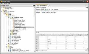 SQL Data Studio Screenshot