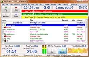 StationPlaylist Studio Screenshot