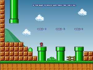 Arcade Games - Screenshot for Super Mario 3 Mario Forever