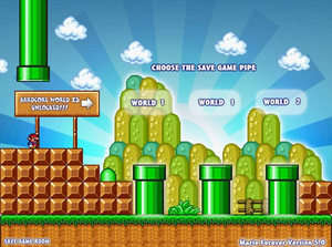 Arcade Games - Screenshot for Super Mario Forever