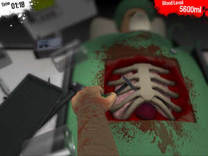 Simulation Game - Screenshot for Surgeon Simulator 2013