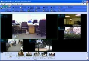 Surveillance Digital Video Recorder Screenshot