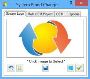 Windows Tweaks - Screenshot for System Brand Changer