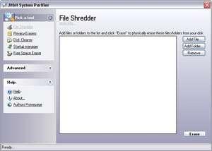 System Purifier Screenshot