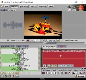 ZS4 Video Editor Screenshot