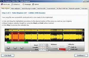 The Ringtone Maker Screenshot