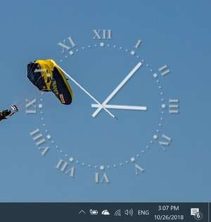 TheAeroClock Screenshot