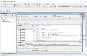 DB Tool - Screenshot for TOAD for Oracle Freeware