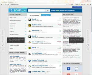 Internet Browser - Screenshot for Torch Browser