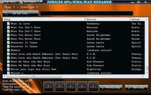 MP3 Tag Tools - Screenshot for Toricxs