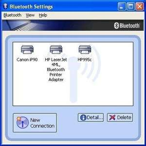 Drivers - Screenshot for Toshiba Bluetooth Stack